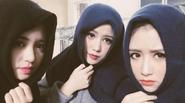 """""""Bộ 3 sát thủ"""" bất ngờ tái hợp, Huỳnh Anh khoe em gái xinh lung linh"""
