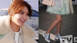 Sooyoung (SNSD) lộ chân gầy như que củi tại sân bay