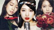 Valentine ngọt ngào với 3 phong cách trang điểm của Park Shin Hye
