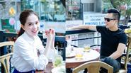 Ngọc Trinh xách hơn 400 triệu đi cafe đầu năm cùng Khắc Tiệp