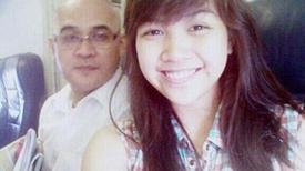Con gái tiếp viên MH370 chúc sinh nhật cha
