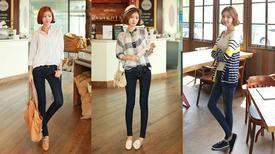 Đi tìm kiểu quần jean hoàn hảo cho nàng thấp bé