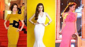 Đầm dài đơn giản vẫn đầy đẳng cấp của Hà Hồ