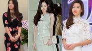 """Sao Hàn """"mê mệt"""" váy liền thân khoe dáng đồng hồ cát"""