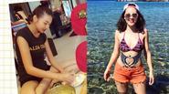 Facebook 24h:Thanh Hằng đảm đang  làm bánh, Phương Linh đẹp gợi cảm