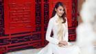 Mê mẩn vẻ đẹp của Thanh Hằng khi diện áo dài