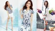 Mix đồ họa tiết và màu sắc đẹp hút hồn như Lee Da Hae