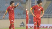 Công Phượng tức giận trong trận thắng của Olympic Việt Nam