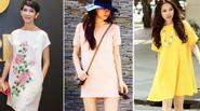 Muôn kiểu mẫu váy suông tuyệt đẹp cho bạn gái hè 2015