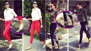 10 mốt giày street style sành điệu từ Thanh Hằng