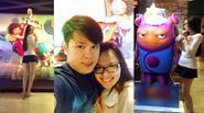 Facebook 24h: Vợ chồng Diễm Hương tình cảm đi xem phim