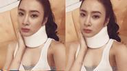 Angela Phương Trinh bị chấn thương ở cổ