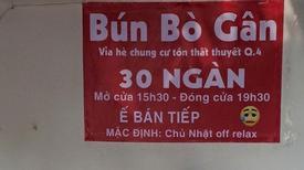 Những tấm biển hài hước ở các quán ăn khiến ai nhìn cũng... phì cười