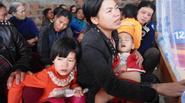 Quê nghèo miền Trung trong ngày đại tang