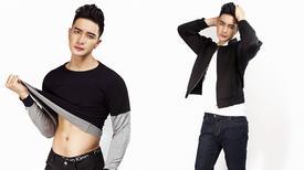 Nguyễn Văn Sơn khoe vẻ điển trai cá tính với style Hàn Quốc