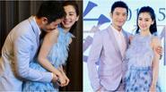 Angela Baby và Huỳnh Hiểu Minh quấn quýt không rời trong sự kiện
