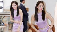 Bạn gái Lee Min Ho ngượng ngùng sợ hớ hênh trang phục