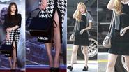 """Bộ sưu tập túi hàng hiệu """"đáng tiền"""" của sao Hàn"""