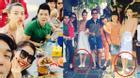 Hà Hồ 'tiệc tùng' vỉa hè Hội An cùng bạn bè
