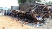 Đắk Lắk: Tai nạn kinh hoàng, 6 người tử vong