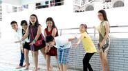 Học trò The Voice Kids 'đại náo' nhà cô giáo Cẩm Ly