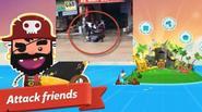 Clip nam sinh Việt đá tới tấp vào mặt chân dài vì game Pirate Kings?