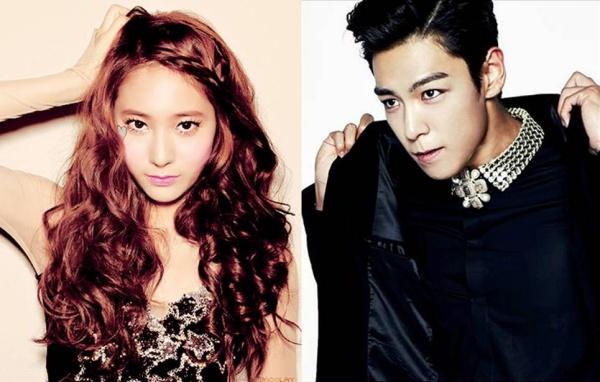 Fan đưa bằng chứng tố chuyện yêu bí mật của Krystal và TOP