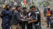 Những hình ảnh đau thương nhất trong trận động đất kinh hoàng ở Nepal