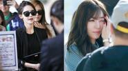 SNSD tỏa sáng ở sân bay, Jeon Ji Hyun quyến rũ như nữ hoàng