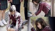 Xót xa cảnh sao Hàn bị bắt nạt trên màn ảnh