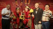 Thầy trò Đường Tăng ăn mừng tượng sáp Tôn Ngộ Không đầu tiên sau 29 năm