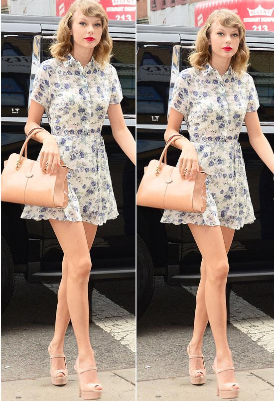 Mix đồ mùa hè xinh tươi như cô nàng Taylor Swift - Ảnh 2