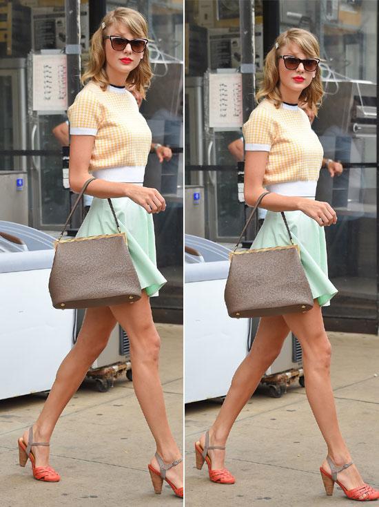 Mix đồ mùa hè xinh tươi như cô nàng Taylor Swift - Ảnh 4