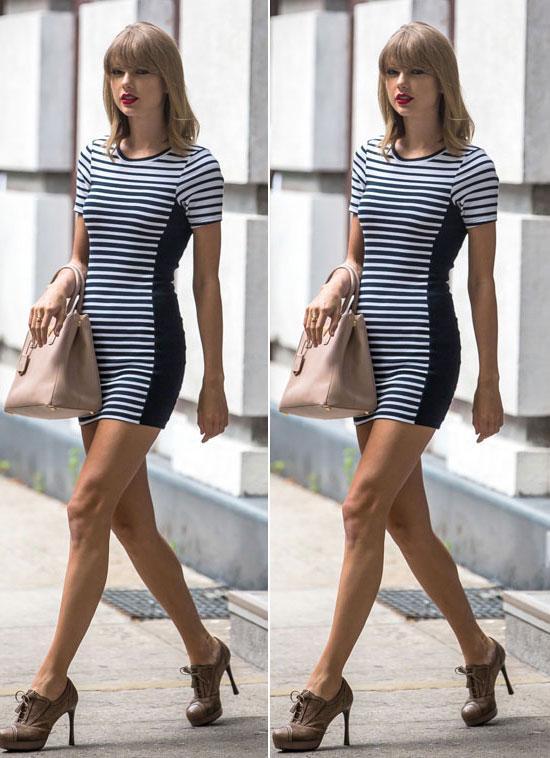 Mix đồ mùa hè xinh tươi như cô nàng Taylor Swift - Ảnh 5