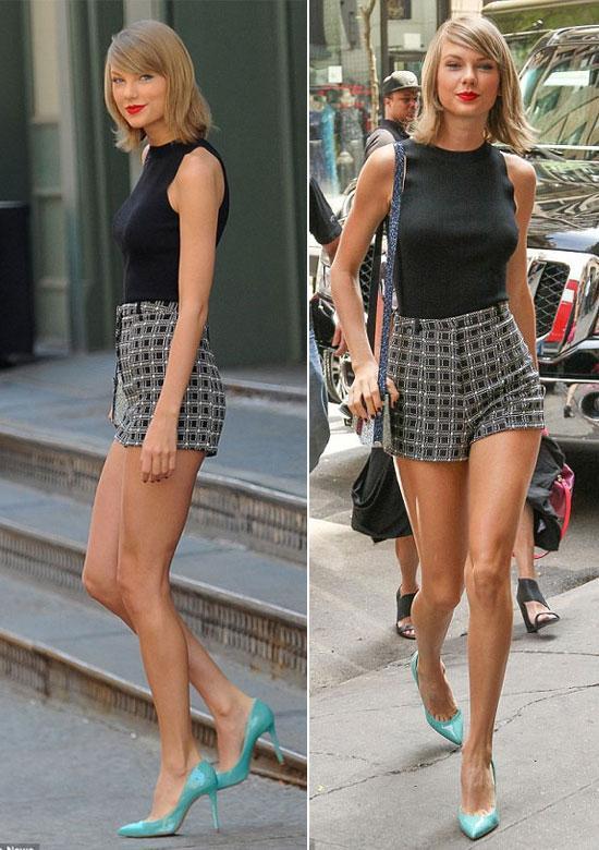 Mix đồ mùa hè xinh tươi như cô nàng Taylor Swift - Ảnh 7