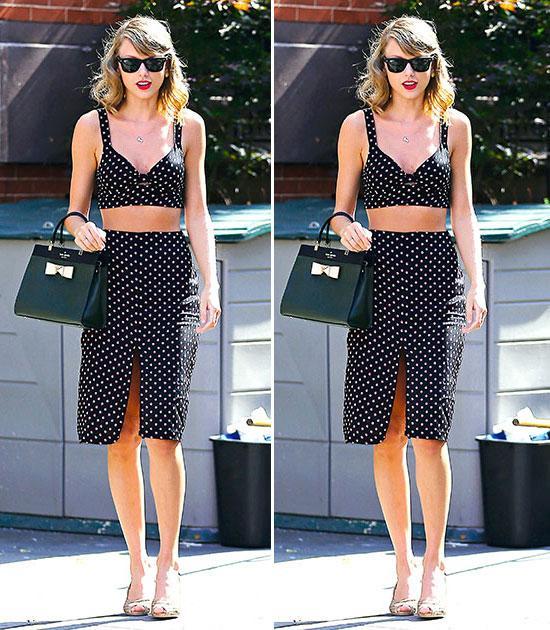 Mix đồ mùa hè xinh tươi như cô nàng Taylor Swift - Ảnh 8