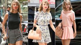 Phối đồ hè tuyệt xinh như Taylor Swift