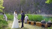 Khung cảnh đám cưới bí mật của sao Hàn
