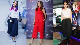 Sao Việt và 'thú' mặc quần dáng độc