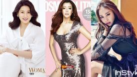 Nhan sắc vạn người mê của 3 mỹ nhân đẹp nhất xứ Hàn
