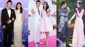 Phong cách 'đôi lứa xứng đôi' của Angelababy và Huỳnh Hiểu Minh
