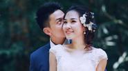"""Chuyện tình của cặp đôi có màn chụp ảnh cưới """"thót tim"""" trong rừng"""