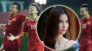 """Diễm My 9x lo bị U23 Việt Nam """"đòi nợ"""""""