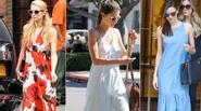 'Đỏm dáng' với váy maxi dịu dàng như Sao