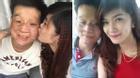 Ngày đoàn tụ hạnh phúc của cặp chồng xấu - vợ xinh