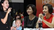 Con trai Vân Hugo nhõng nhẽo với mẹ trong họp báo của Mỹ Linh