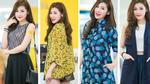 Á Hậu Tú Anh thay 4 váy tại sự kiện