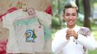 Facebook24h: Phan Hiển sung sướng khi nhận quà tặng quần áo sơ sinh