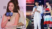 Kim Tae Hee - Rain né nhau trong sự kiện