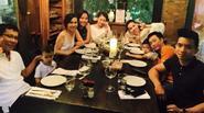 Facebook24h: Gia đình Hà Hồ - Quốc Cường vui vẻ bên nhau